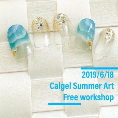 Calgel Art 無料ワークショップ