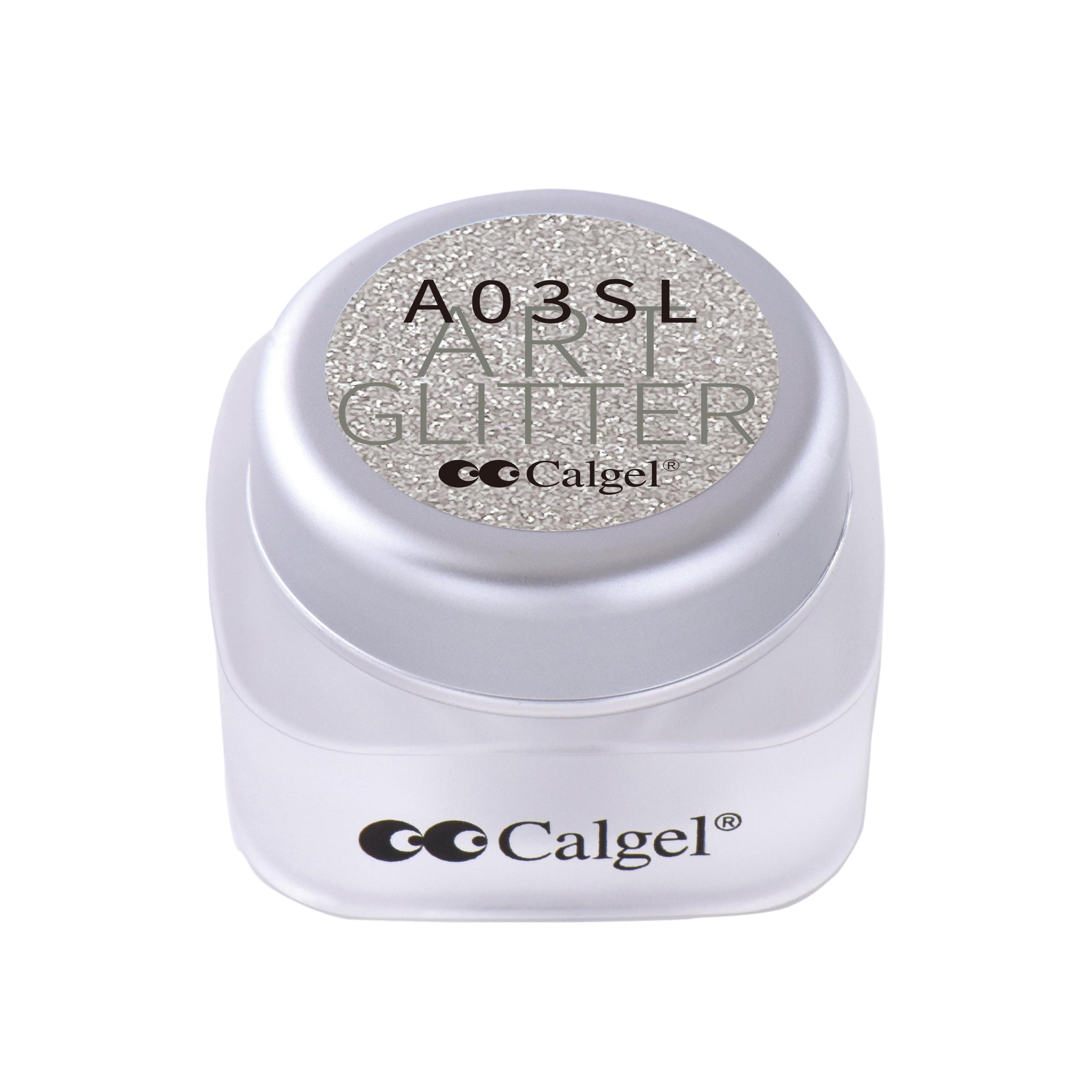 CGA03SL カラーカルジェル プラス アート グリッター シルバー