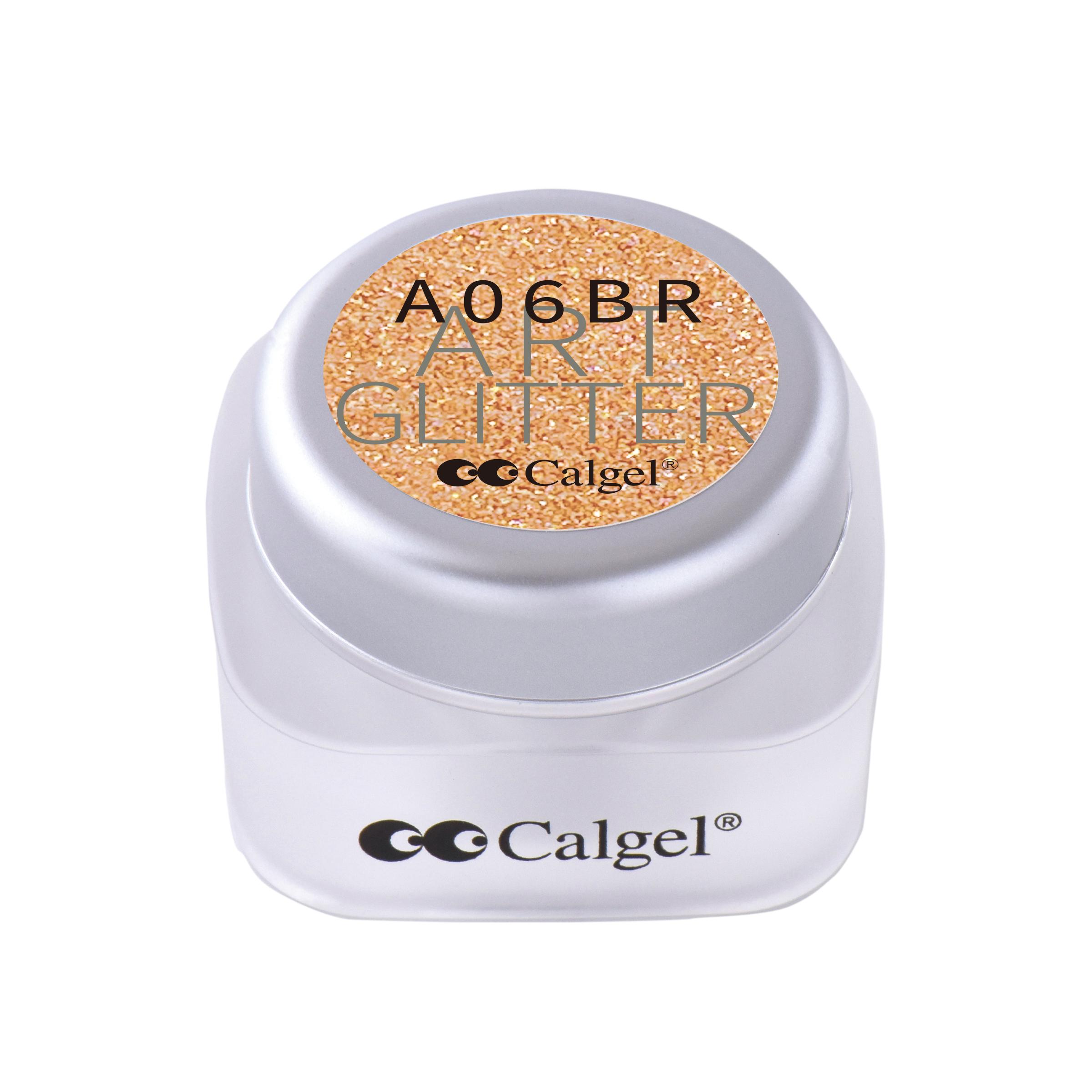 CGA06BR カラーカルジェル プラス アート グリッター コッパー